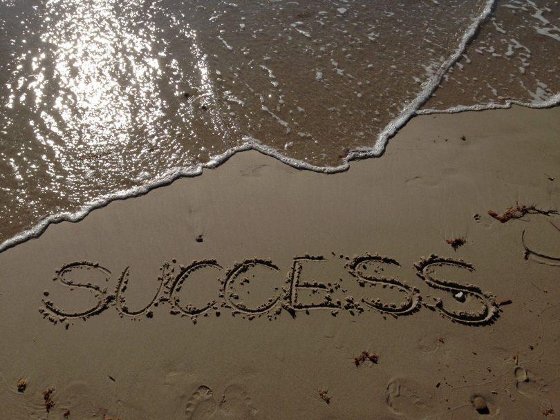 Reaching towards success quotes