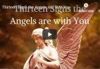 Angel signs and symbols