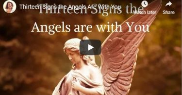 Angel signs and symbols