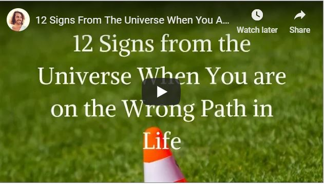 how to stop going down the wrong path
