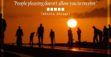 Stop Pleasing Others